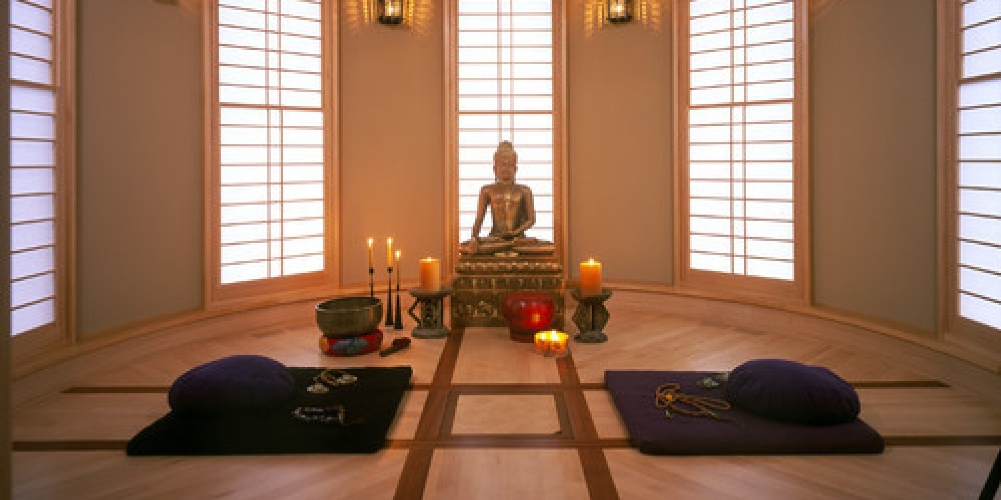 Meditation Decor Entrancing How To Create A Meditation Room  Kheops International Design Ideas
