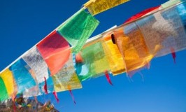 How to Hang Tibetan Prayer Flags